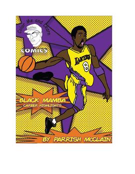 Color Me and Learn Comics/ Black Mamba