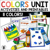 Colors Activities and Worksheets for Preschool and Kindergarten