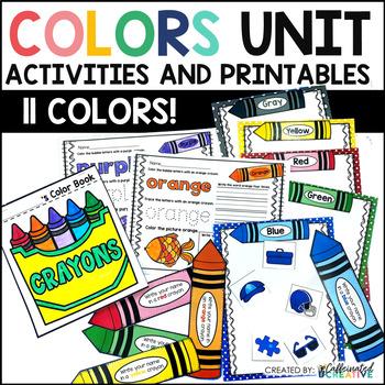 Colors Activities and Worksheets for Preschool and Kindergarten