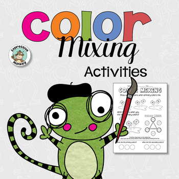 Color Mixing Activities Art Lesson