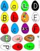 Color Mixing Alphabet Eggs