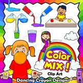 Color Mixing Clip Art