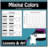 Color Mixing Lesson & Clip Art