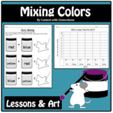 Color Mixing Lesson & Clip Art