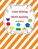 Color Mixing Math Activity