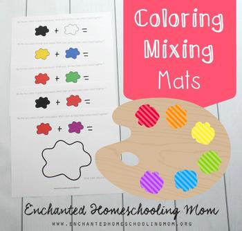 Color Mixing Mats