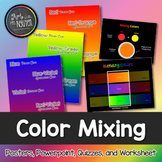 Color Mixing Package: Primary, Secondary, and Tertiary/Intermediate colors!