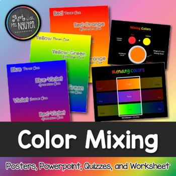 Color Mixing Package: Primary, Secondary, and Tertiary/Int
