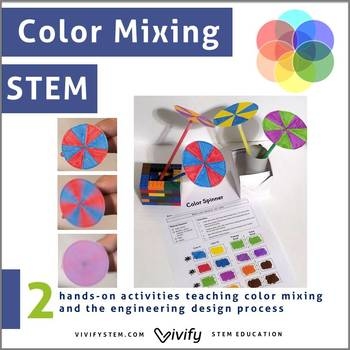 Color Mixing STEM: Engineering and Art Activities