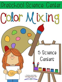 Color Mixing Science Centers (Rainbow)