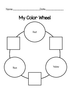 Color Mixing Wheel Lesson
