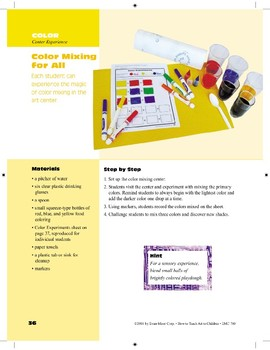 Color Mixing for All
