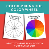 Color Mixing the Color Wheel
