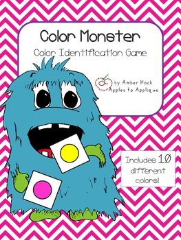 Color Monster Activity