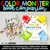 Color Monster Book Companion, Visual Craft and Recipe, and