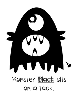 Color Monster Helpers