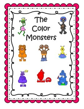 Color Monsters Color Posters