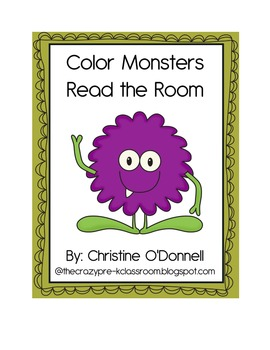 Color Monsters Read the Room