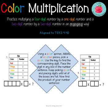 Color Multiplication