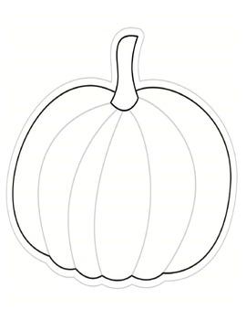 Color My Classroom Pumpkin Cut Outs