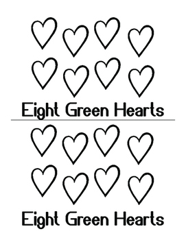 Color My Heart Valentines Day Activity - Color and Number Words