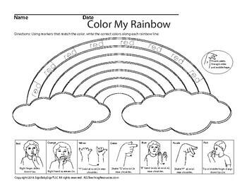 Color My Rainbow