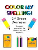 Color My Spelling Journeys 2nd Grade