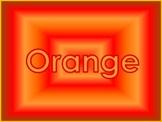 Color My World Activity Packet- ORANGE