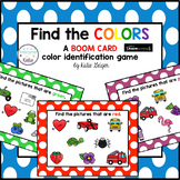 Color My World BOOM CARDS Color Identification