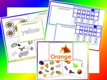 Color My World- Basic Colors Bundle