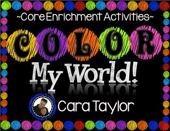 Color My World ~ Core Enrichment Activities for Young Learners