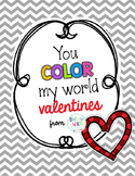 Color My World {Valentine's Day} Treat