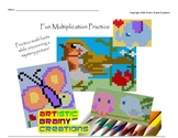 Color Mystery Multiplication Pictures Spring/Summer