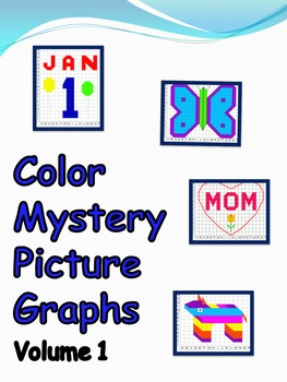 Color Mystery Picture Graphs - Vol. 1