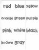 Color Name Memory