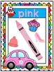 Color Name Posters ~ Owl theme & Polka Dots! A-Z Teacher T