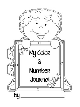 Color & Number Journal Writing Pages