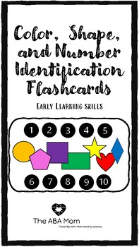 Color, Shape, and Number Recognition