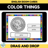 Color Objects Boom Cards for Distance Learning