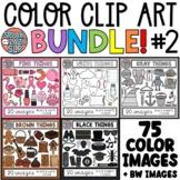 Color Objects Clip Art GROWING BUNDLE • PART 2 • SpeakEazySLP