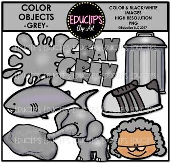 Color Objects Clip Art Mega Bundle {Educlips Clipart}