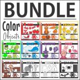 Color Objects ClipArt BUNDLE