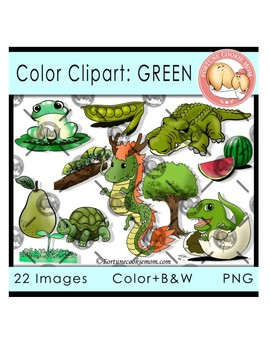 Color Objects: Green