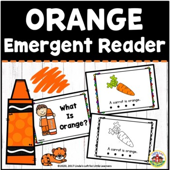 Color Orange Emergent Reader
