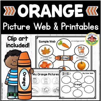Color Orange Picture Web Activity