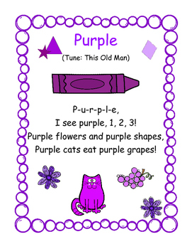 Color Packs - All About Purple!