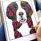 Stress Relief Activity- Coloring Pages Animal Version