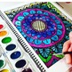 Stress Relief Activity- Coloring Pages Volume 3