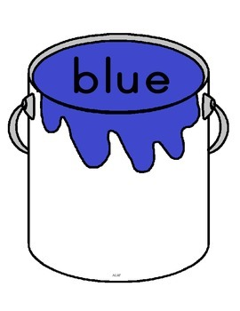 Color Paint Cans Matching Games By AL4F