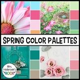 Color Palettes - Spring